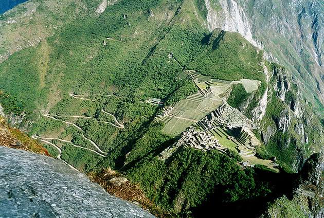 Vista de Huayna Picchu