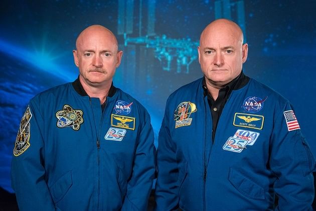 Mark e Scott Kelly
