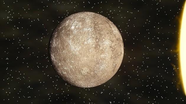 Mercúrio e Sol