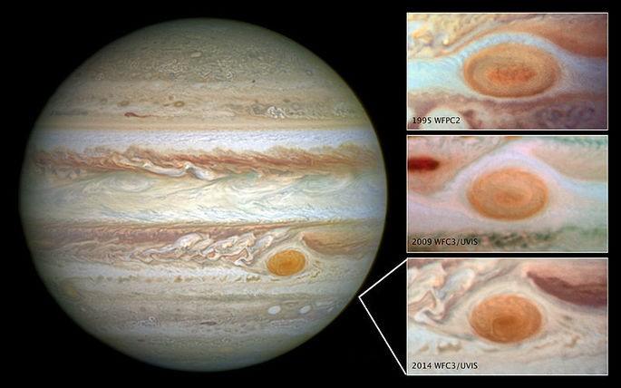 Júpiter Mancha Vermelha