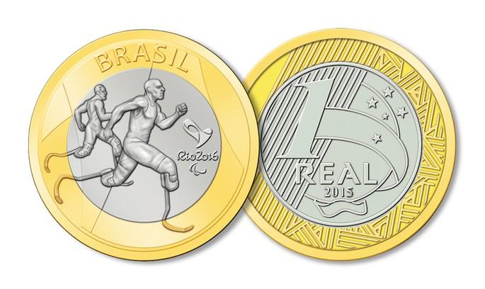 Atletismo Paralímpico moeda