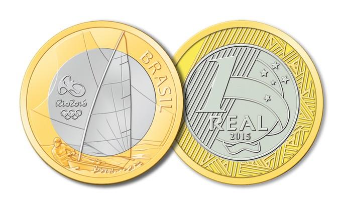Vela moeda