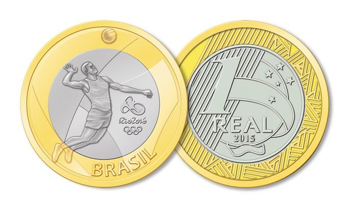 voleibol moeda