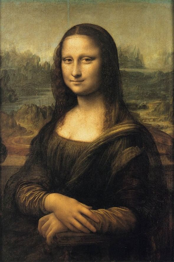 Monalisa, Leonardo da Vinci. Fonte: Paper Blanks