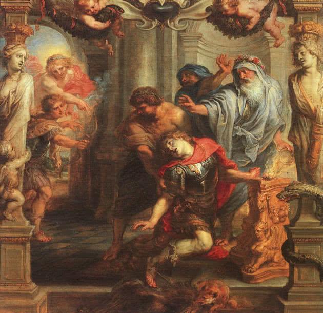 A morte de Aquiles