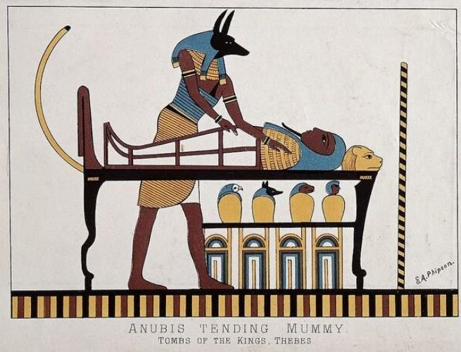 Mumificação de Osíris
