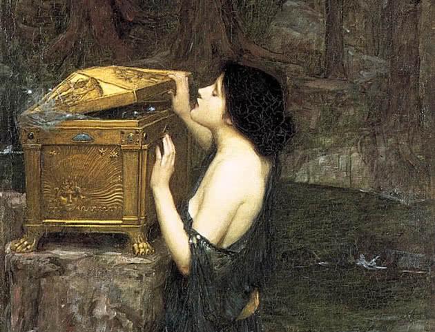 Pandora e a caixa