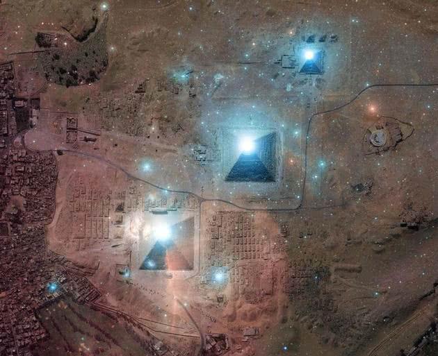 Pirâmides e Orion