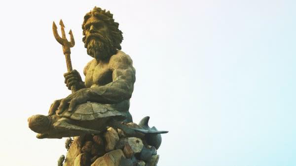 Poseidon, Rei dos Mares