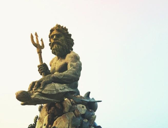Estátua de Poseidon