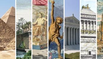 As 7 maravilhas do mundo antigo e outros monumentos que deixariam elas no chinelo hoje!