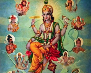Quem é Vishnu, o deus hindu da preservação do mundo