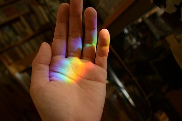 Arco-íris e ilusão