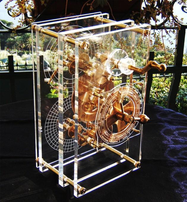 Recriação do Mecanismo Antikythera