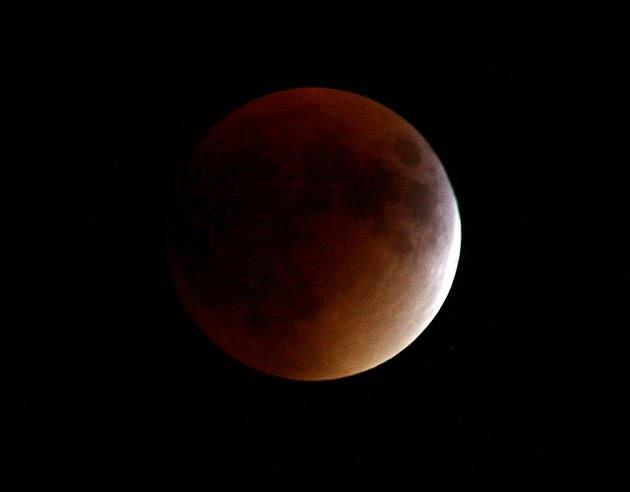 Lua vermelha eclipse