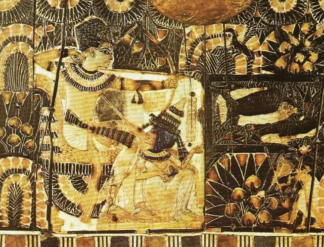 Escrituras na tumba de Tutankamon