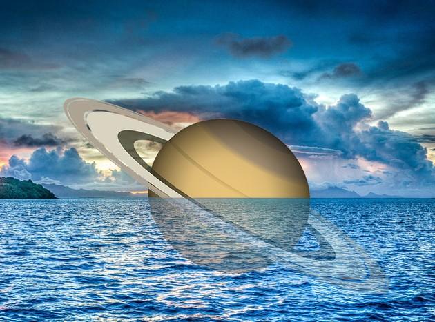 Densidade de Saturno