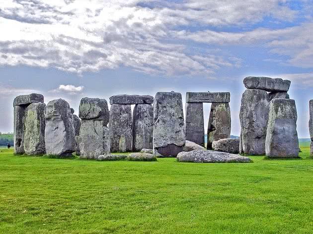 Stonehenge pedras