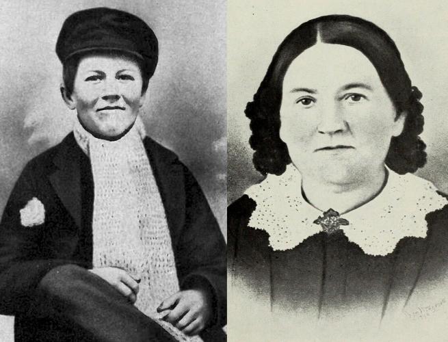 Thomas Edison e sua mãe