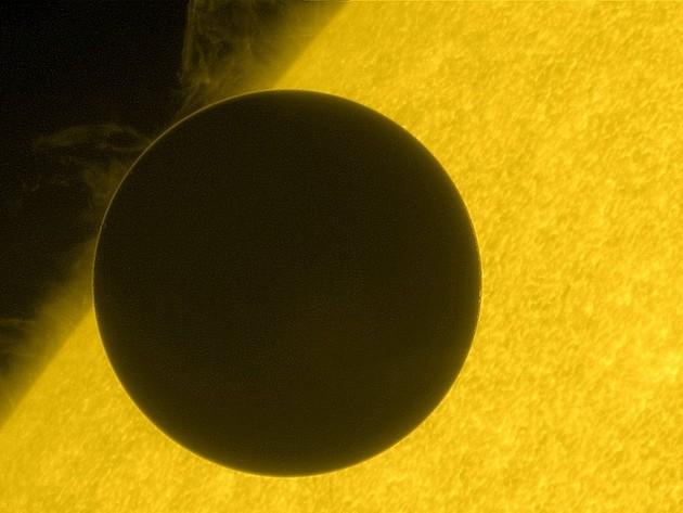 Vênus e Sol