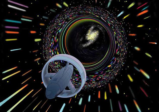 viagem pelo wormhole
