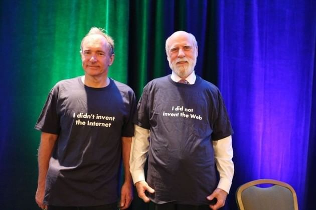 Vint cerf e Tim Berners